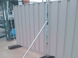 Gates and Hoardings: Metal Security Gates in the UK