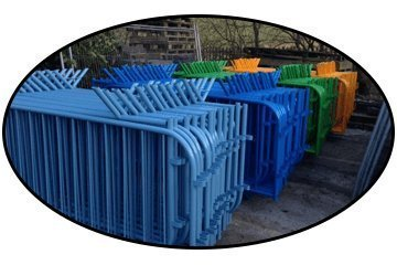 High Quality Metal Fencing for Event Security