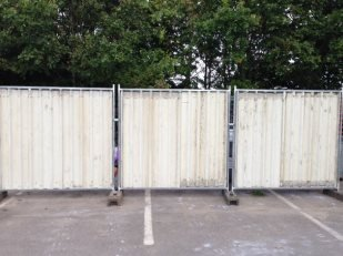 Heavy Duty Steel Hoardings
