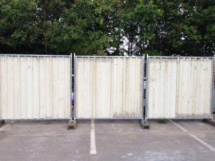 Heavy Duty Steel Hoardings