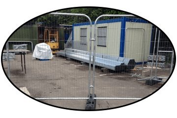 Temporary Fencing Products We Supply: Fence Panels, Fencing Accessories and More.