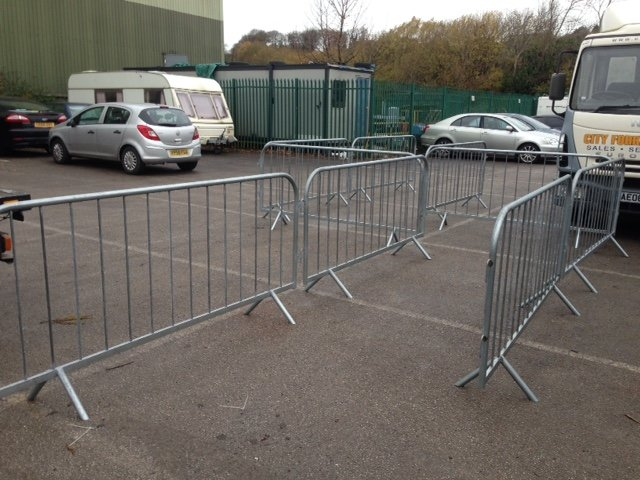 Temporary Pedestrian Barriers