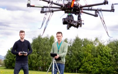 Is the use of drones effective for construction sites