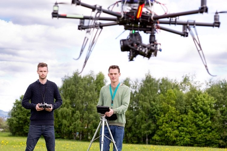 Is the use of drones effective for construction sites?